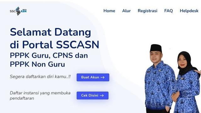 Pembukaan Tes CPNS dan PPPK 2021 Telah dibuka, Inilah Daftar List Formasi CPNS Seluruh Instansi