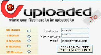 Updated || Uploaded.Net Premium Account Login & Password June 2021