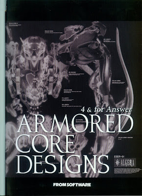 Armored Core Designs – 4 & For Answer zip online dl and discussion