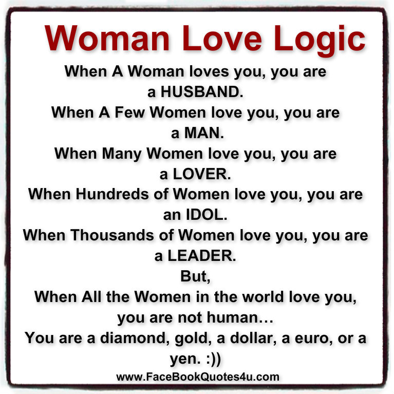 Gr8 Ppl Gr8 Thoughts Woman Love Logic