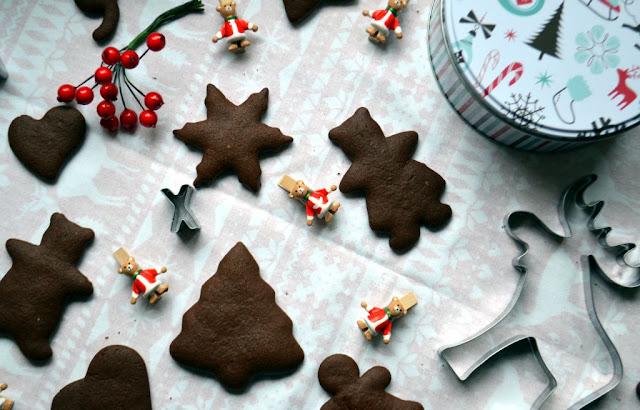 pierniczki-czekoladowe Czekoladowe pierniczki