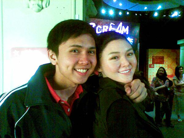with Baribie Xu of Meteor Garden