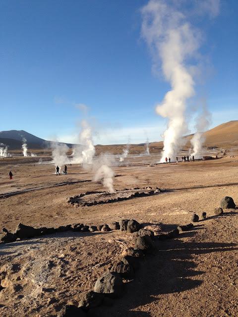 Geisers del Tatio San Pedro de Atacama Chile