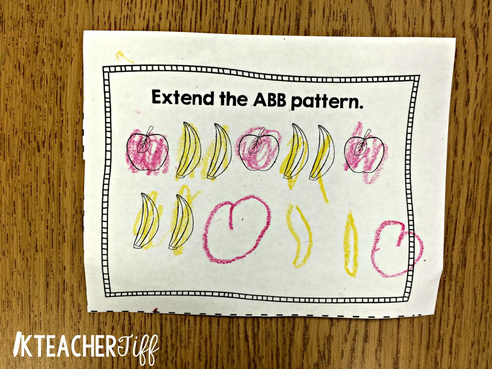 Kteachertiff Using Exit Tickets In Kindergarten