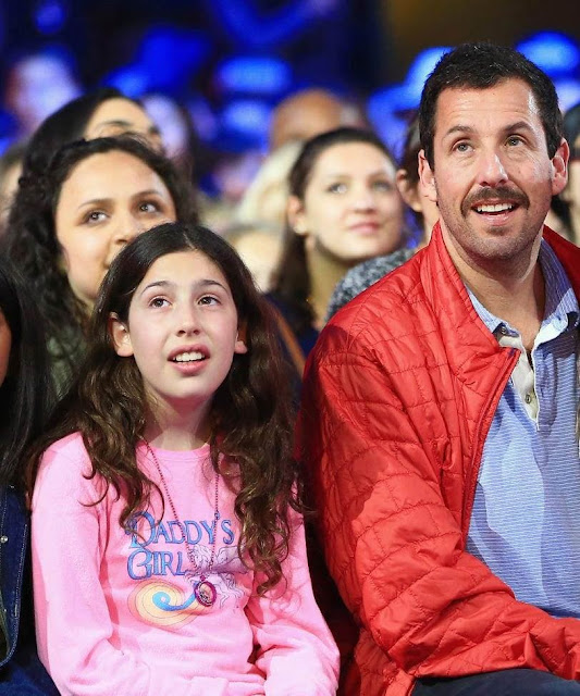 Sadie Madison Sandler and Adam Sandler