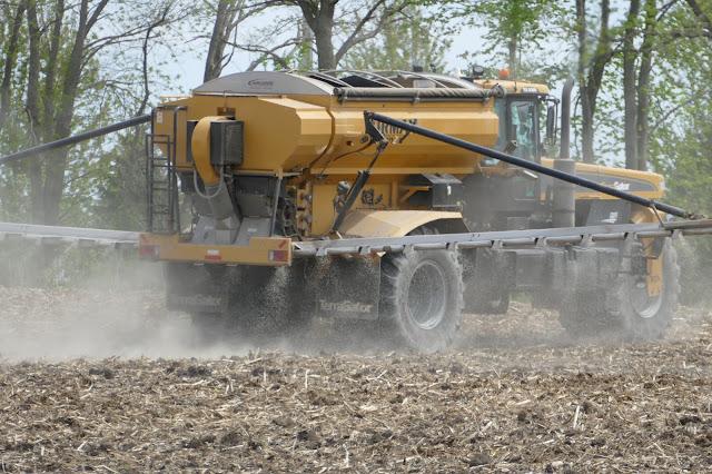 spring fertilizer application