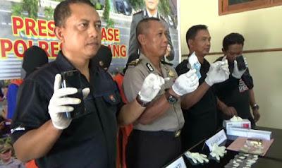 Polres Jombang Bongkar Jaringan Pengedar Narkoba Kalangan PNS