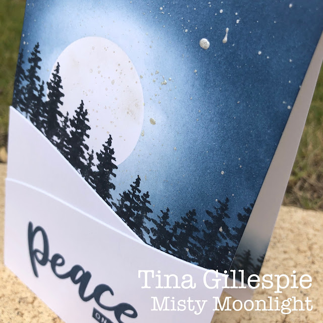 scissorspapercard, Stampin' Up!, Colour Creations, Waterfront, Peace & Joy, Joy To The World Paper Pumpkin, Home Together Dies, Shimmer Paint