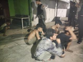 Polres Pelabuhan Amankan 9 Remaja yang Terlibat Tawuran di Ujung Tanah
