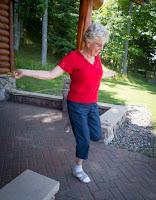 Olsen Family Reunion - Janice Summersett jump roping