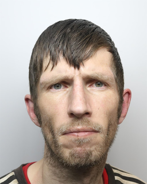 Robert Hill, of Ashgrove, Great Horton, threatened to stab store guard with needle then attacked his friend in street