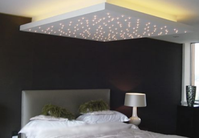 plafon kamar minimalis yang mengambang