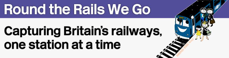round the rails we go