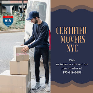 certified movers NYC