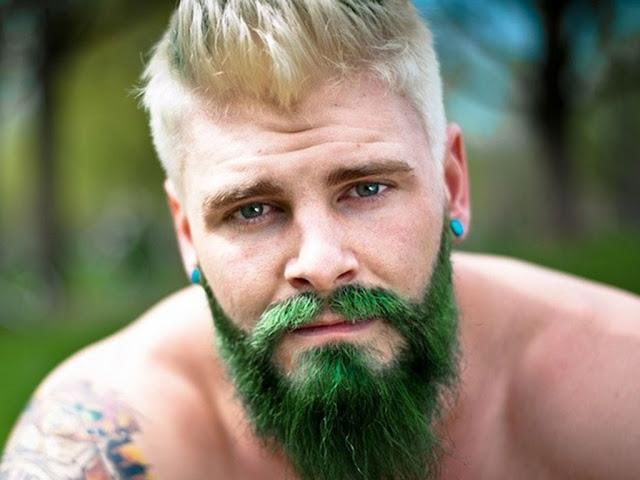 Barba Masculina enfeitada (4)