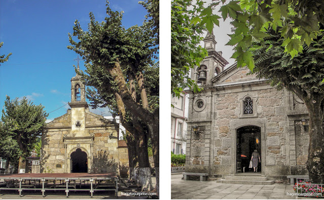 Capela de Jesus, O Porriño, Caminho de Santiago