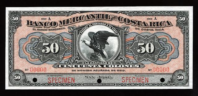 Costa Rica Cincuenta Colones