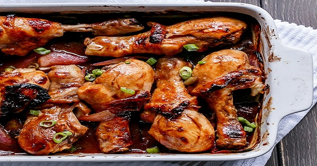 Barbecue Soy Chicken Drumsticks