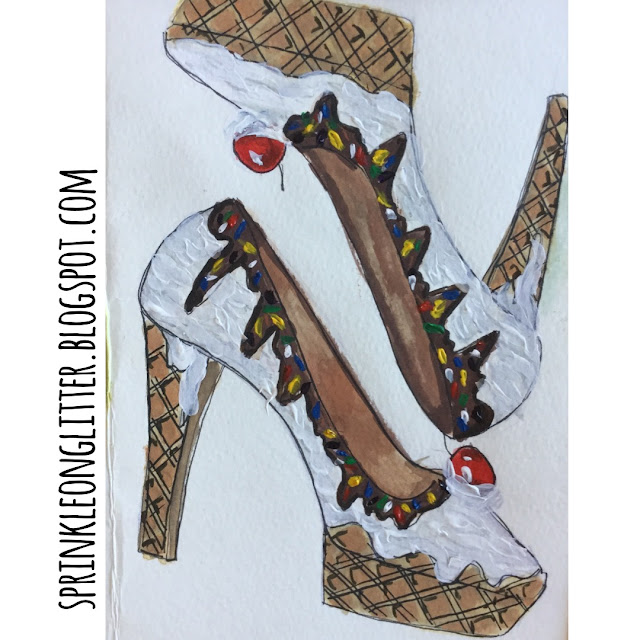 Sprinkle On Glitter Blog// Ice Cream Shoes