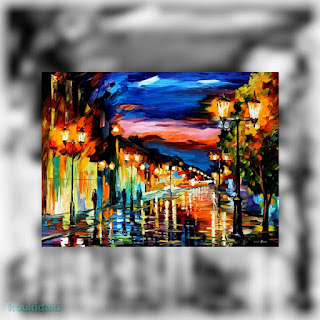Πίνακας Leonid Aftemov (The road of memories, λάδι)