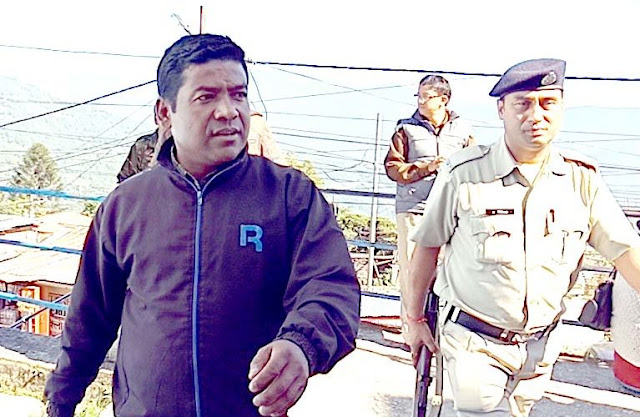 Bimal Gurung supporter Suraj bagdas arrested