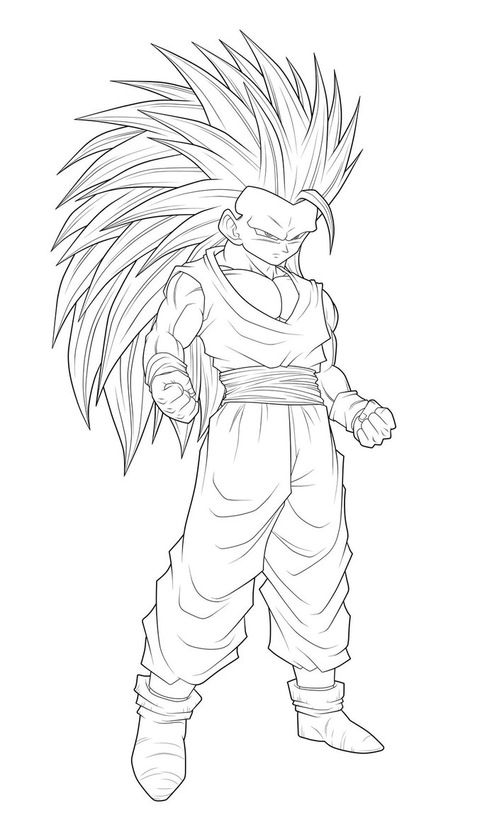 Related image with Coloriage Dragon Ball Z Yamcha