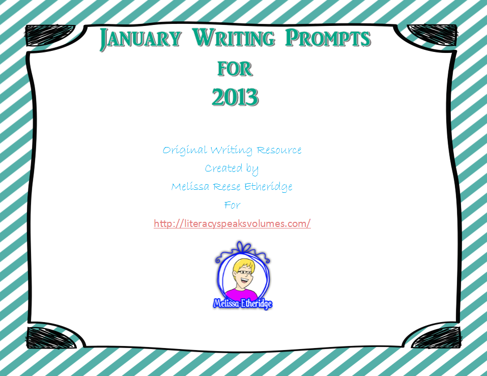 January 2013 Lay Composition Prompt