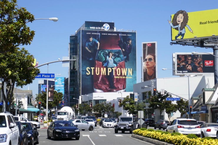 Giant Stumptown series billboard