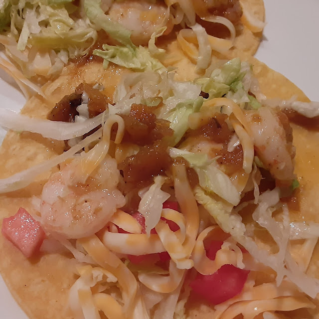 Shrimp Tacos with Mango Chutney