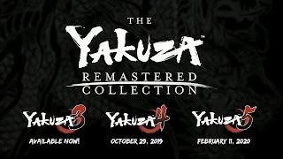 Yakuza Remastered Collection - Coletânea é anunciada na Gamescom 2019