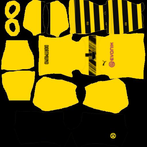 Kits DLS Borussia Dortmund DLS20