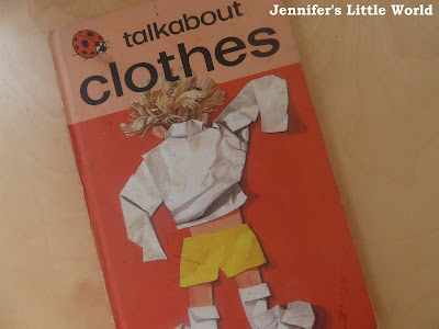 Ladybird Talkabout Clothes book