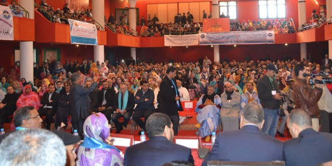 """Photo of الندوة الوطنية حول حق الإضراب تؤكد أن حق الإضراب """" جزء لا يتجزأ من الحقوق والحريات النقابية """""""