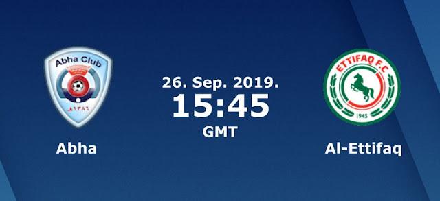 مشاهدة مباراة أبها والإتفاق بث مباشر بتاريخ 26-09-2019 الدوري السعودي