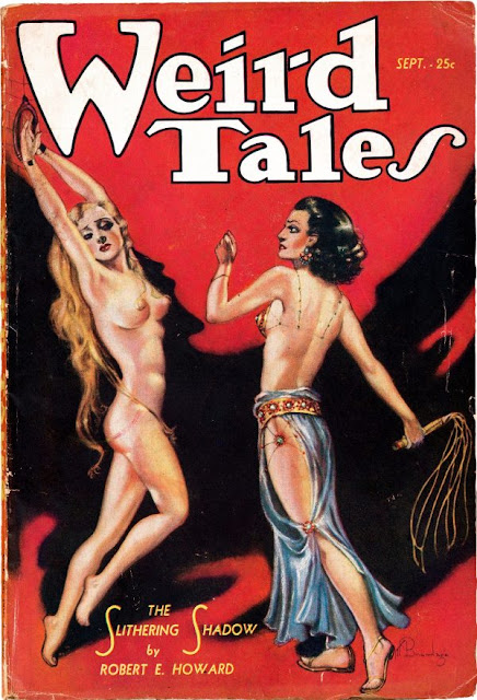 Margaret Brundage Weird Tales cover