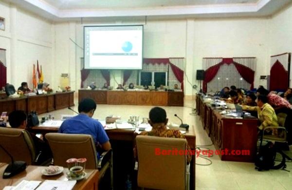 Susun Agenda, Bamus DPRD Barsel Adakan Rapat