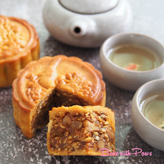 Five Nuts Mooncake with Sambal Dried Shrimp