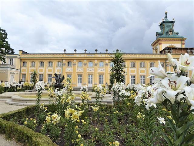 giardino palazzo wilanow