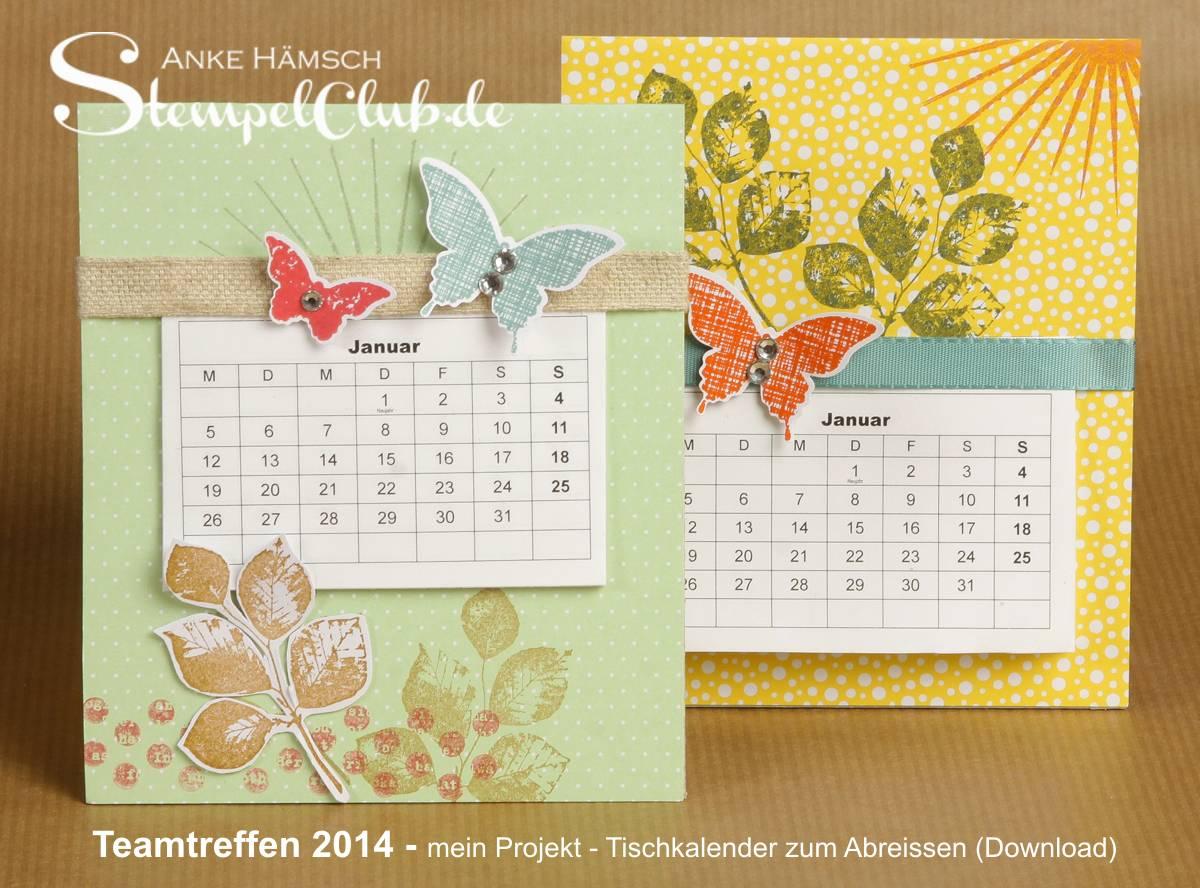 Kalender, Stampin up