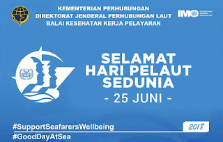 Hubla Peringati Hari Pelaut Sedunia 25 Juni