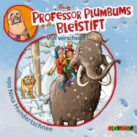 """Heute ein Buch! In der Welt der Phantasie unterwegs mit """"Professor Plumbums Bleistift"""". Unsere Kids hören Audio-Cds gerne unterwegs."""