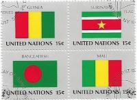 Selo Bandeiras de Estados Membros da ONU