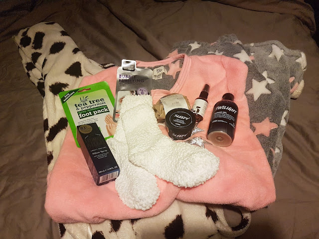 My Pamper Evening Routine