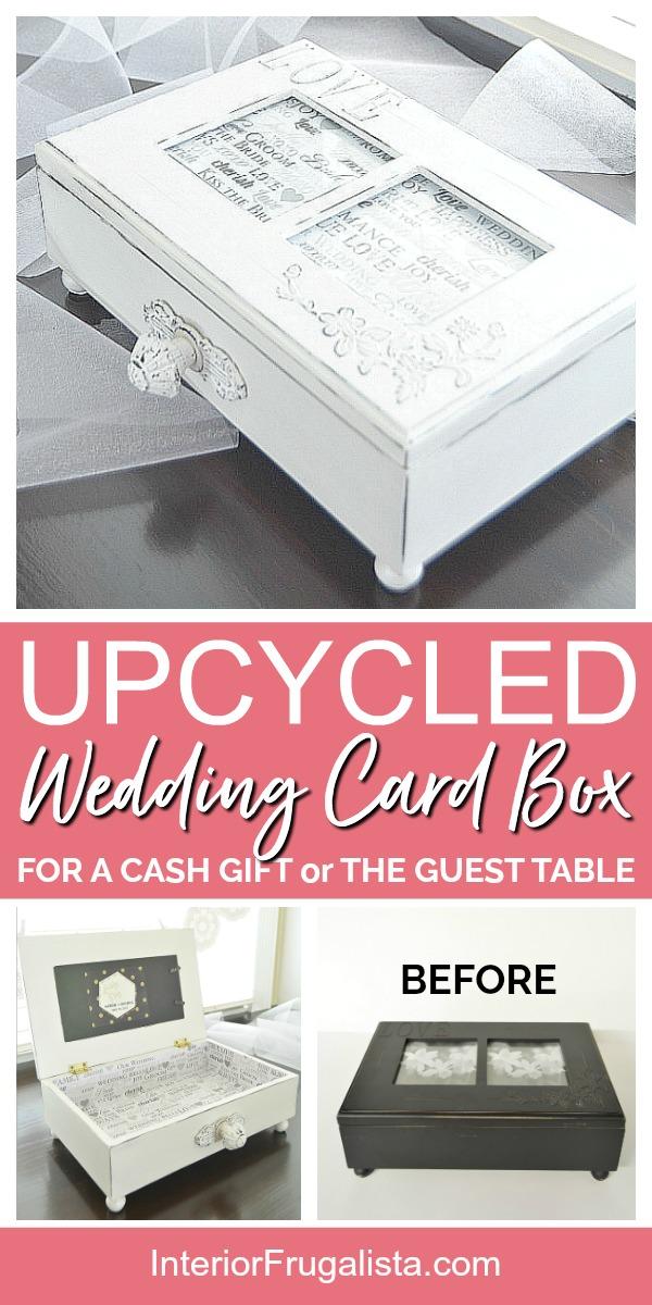 Upcycled DIY Wedding Card Box