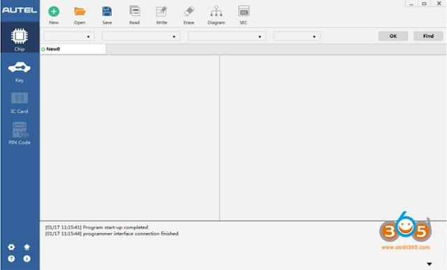 autel-XP400-software-menu-1