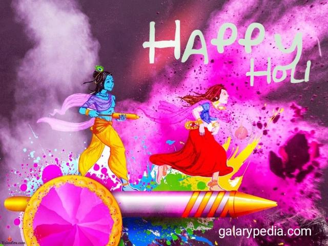 Happy Holi Radha Krishna images