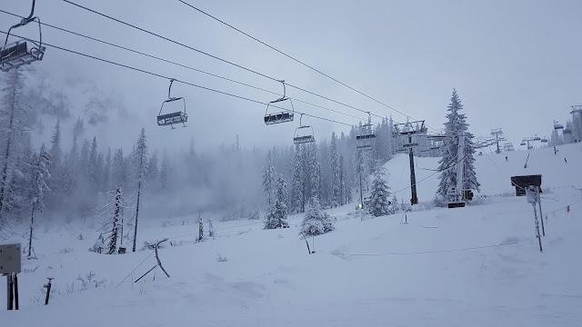 Stok narciarski na Rohaczach (grudzień 2019)