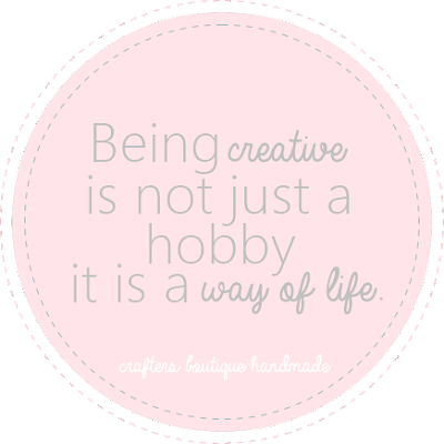 Inspirational Monday - Being Creative is a Way of Life
