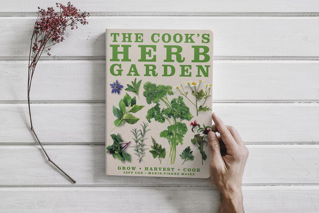 BOOK:THE COOK'S HERB GARDEN