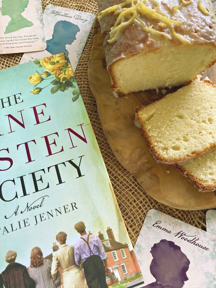 Glazed Lemon Cake | #TheJaneAustenSocietyParty